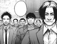 Marude and his men against Kichimura