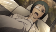 Tooru attacked by Torso anime