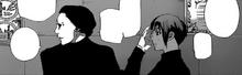 Mutsuki parla con Uta