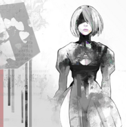 Illustration von 2B