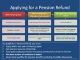 Pension Refund (Private)
