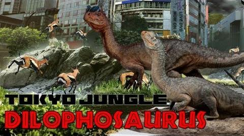 Tokyo Jungle Dinosaur - Dilophosaurus