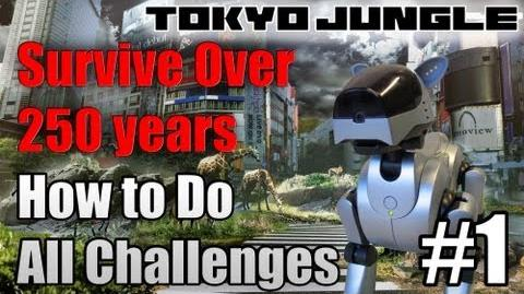 Tokyo Jungle - Survive over 100 years (Robotic Dog ERC-003) Part 1