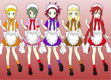 Amelia, Poppy, Racheal, Kathrine, Isabella