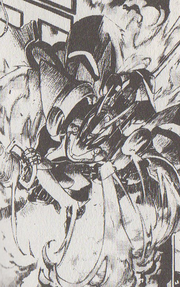 Cerberus with gun