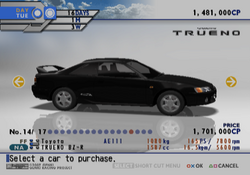 Toyota Trueno BZ-R (TXR-D2)