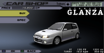 Starlet glanza front