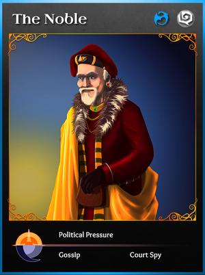 Portraitcard bluedragon noble