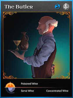 Portraitcard bluedragon butler
