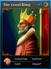 Portraitcard bluedragon goodking