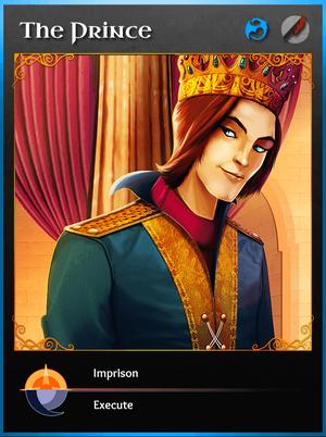 Portraitcard bluedragon prince