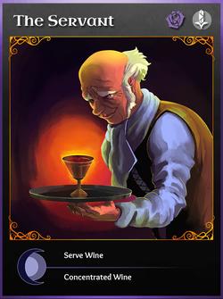 Portraitcard unseen servant