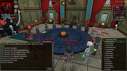 Halloween court