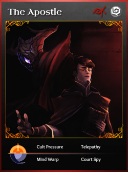 Portraitcard cult apostle