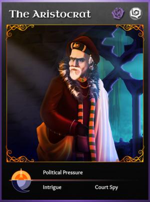 Portraitcard unseen aristocrat