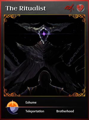 Portraitcard cult ritualist