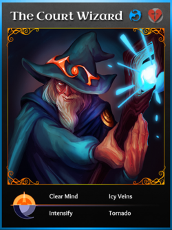 Portraitcard bluedragon courtwizard