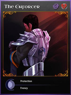 Portraitcard unseen enforcer