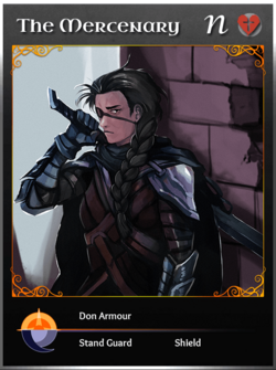 Portraitcard neutral mercenary