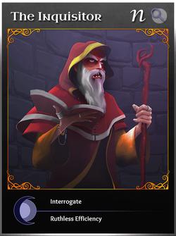 Portraitcard neutral Inquisitor