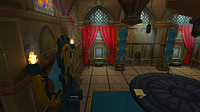 In-Game Screenshot (Throne Room - Day)