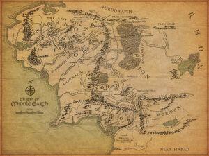 Kaart Van Midden-Aarde