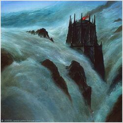 John Howe - Drowning-of-Numenor-1-