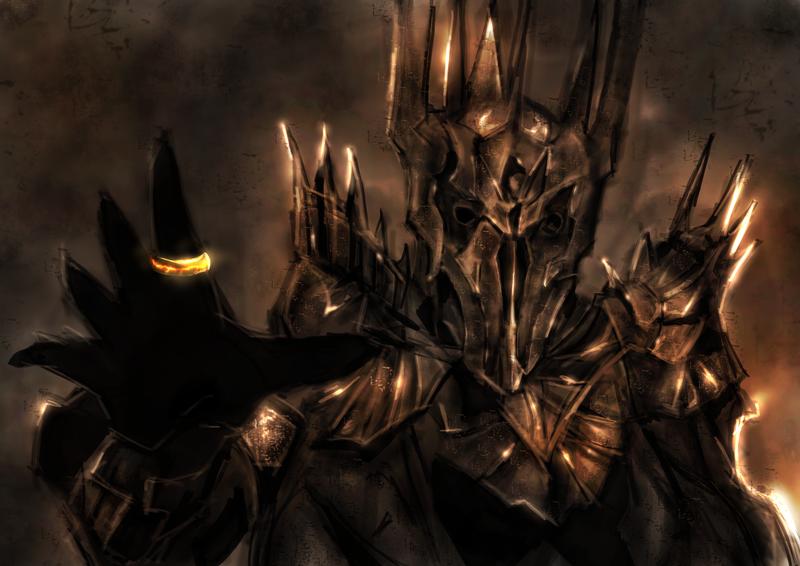 Фото саурона из властелина образцы икон