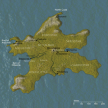 Kaart van Númenor-1-