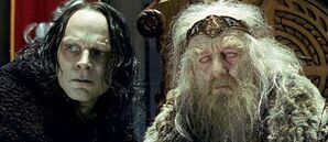 Grima en Theoden