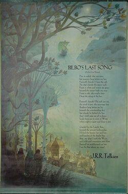 Pauline Baynes - Bilbo's Last Song (with text)-1-