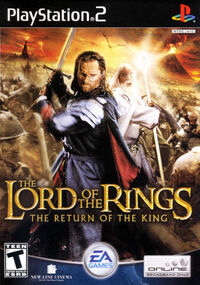 EA's The Lord of the Rings- The Return of the King box-1-