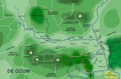 Kaart van de Gouw
