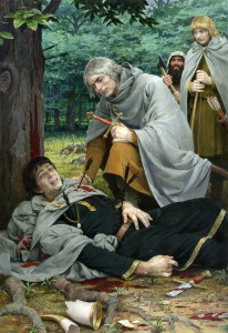 La morte di Boromir by Denis Gordeev