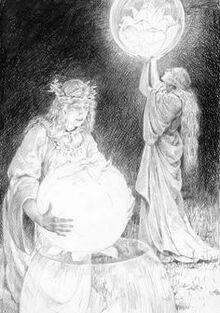 La creazione del Sole e dellaLuna by Denis Gordeev