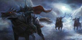 Glorfindel, Eärnur and Witch-King