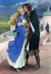 Éowyn e Faramir by Denis Gordeev
