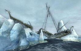 Relitto della nave di Arvedui