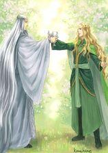 Thingol e Finrod by Ironhill