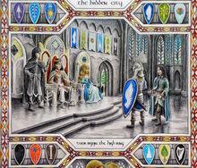 L'arrivo di Tuor a Gondolin