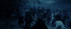 Attack at Fangorn