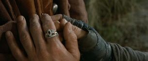 Ring of Barahir LotR 2001