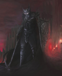 Morgoth vs Fingolfin by Rick Ritchie