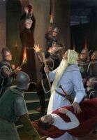 Gandalf vs Denethor by Denis Gordeev