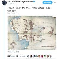 Tweet mappa LOTRonPrime