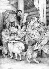 L'ospitalità di Beorn by Denis Gordeev