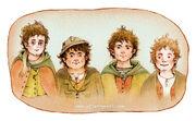 Ulla Thynell - Hobbits