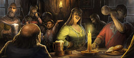 Men and hobbits of Bree