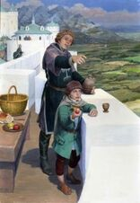 Pipino e Beregond by Denis Gordeev