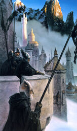 Minas Tirith guard by John Howe